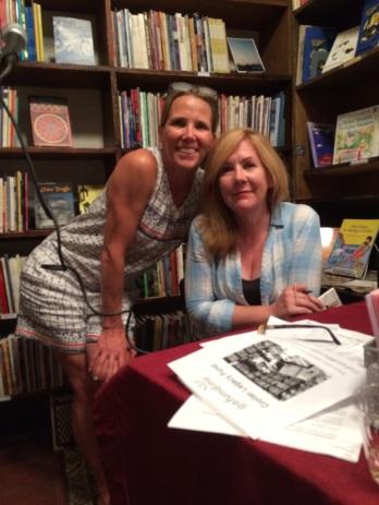 Christine Jones and Erin Belieu. Photo by Michael Jones